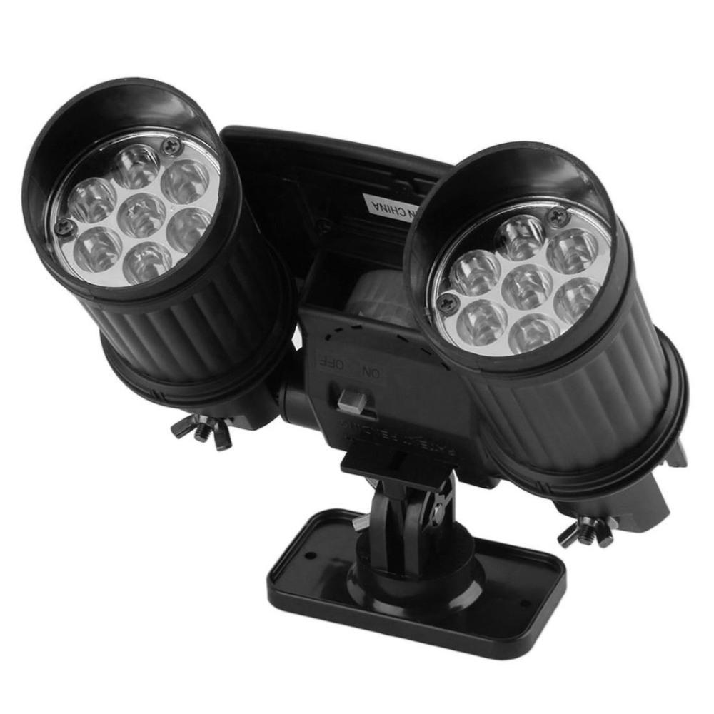 LED reflektor sa senzorom pokreta i solarnim punjenjem gore