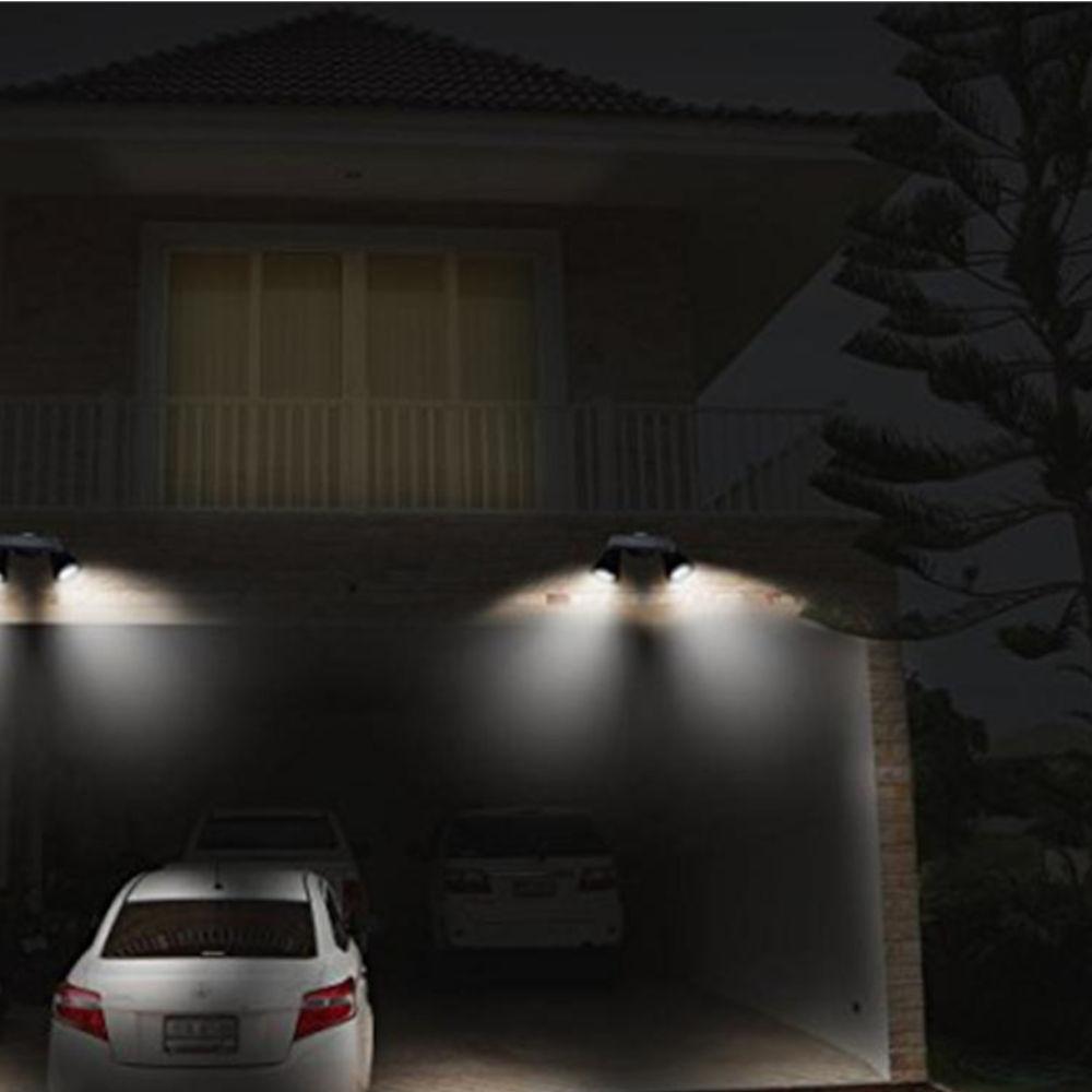LED reflektor sa senzorom pokreta i solarnim punjenjem primjer