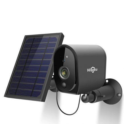 Solarna kamera za video nadzor Hiseeu 1080P